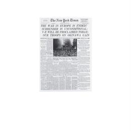 ◆メール便発送商品◆New York Times フロントページ A6 ノートブック