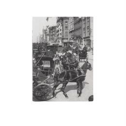◆メール便発送商品◆New York Times カリッジズ オン フィフス アベニュー 1897 ポケットノートブック