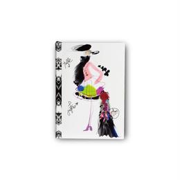 メール便発送商品 / 19345 Christian Lacroix Fashion Sketch A6 Note / クリスチャンラクロワ ファッションスケッチ A6ノート