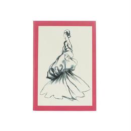 メール便発送商品/Metropolitan Museum Fashion Illustrations A6/メトロポリタンミュージアム ファッションイラストレーションズ ノート