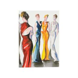 メール便発送商品 / Metropolitan Museum Evening Dresses Notebook / メトロポリタンミュージアム イブニングドレスA5ノート