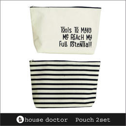 House Doctor Porch 2set / ハウスドクター ポーチ 2個セット