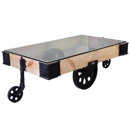 "Liam Coffee Table ""Vince"" / リアム コーヒーテーブル ""ヴィンス"""