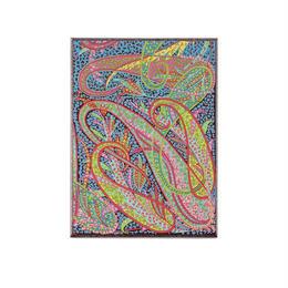 メール便発送商品 / 1194 LIBERTY Swirling Paisley Message CardSet / スワーリング ペイズリー メッセージカードセット