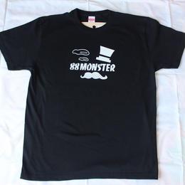 Gentleman Tシャツ 黒/白