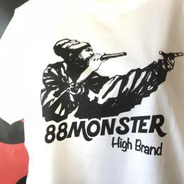 ラスタマンTシャツ 白