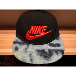 ☆atmosコラボ -【USED】NIKE BLEACHED DENIM SB CAP