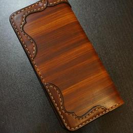 wood brown ロング01