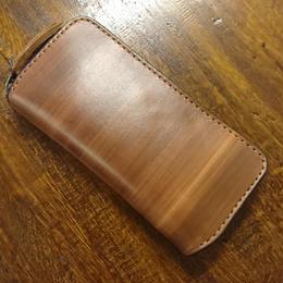 original woodbrownラウンドファスナー8枚タイプ
