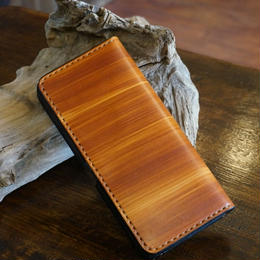 right woodbrown ロングウォレット01
