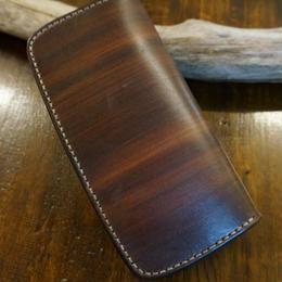 woodbrown Rロングウォレット
