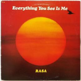 Rasa ‎– Everything You See Is Me