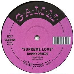 Johnny Darkos - Supreme Love/Wargames