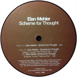Elan Mehler - Scheme For Thought