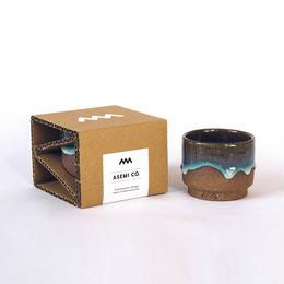 松代焼 - カップ 小  + お茶 セット