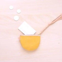 suzumeno pouch (yellow)