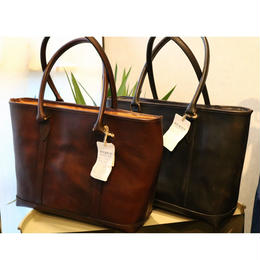 【VASCO】LEATHER NELSON TOTE BAG