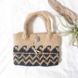WAVEbag 【black×natural】