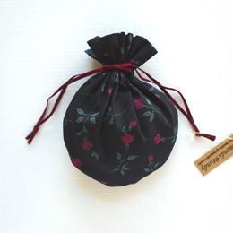 リバティキャンディ巾着・デミ・ブラック