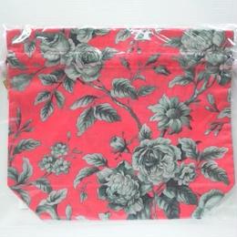 リバティトラベル巾着・グレースフル・ピンク