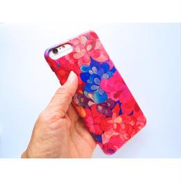 iPhone7Plus.6sPlusケース/エメラルドベイ・ピンク