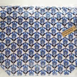 リバティトラベル巾着 ベイオール ブルー