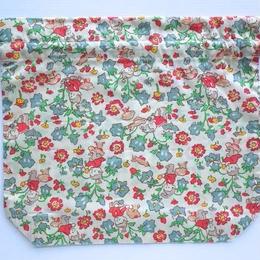 リバティトラベル巾着・リベンデル