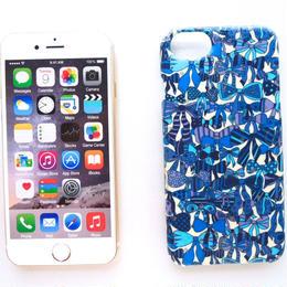 iPhone7ケース/ジェニーズリボンズ・ブルー