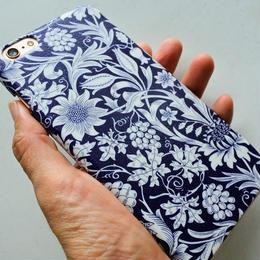 iPhone6Plus/6sPlusケース/リバティ・エデンハム・ネイビー