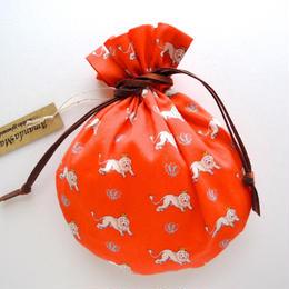 リバティキャンディ巾着・キング・オレンジ