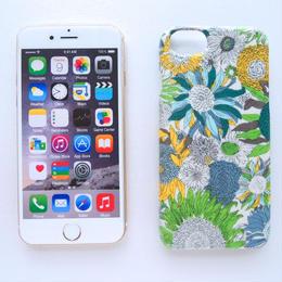 iPhone7ケース/スモールスザンヌ・グリーンイエロー