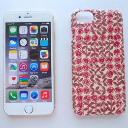 iPhone7ケース/スリーピングローズ・ピンク