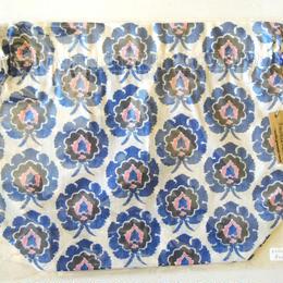 リバティトラベル巾着 ボスフォラス ブルー