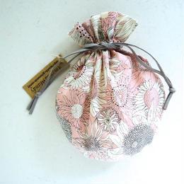 キャンディ巾着・リバティ・スモールサス・ピンク1