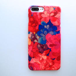 iPhone8Plus.7Plus.6sPlusケース/エメラルドベイ・ピンク