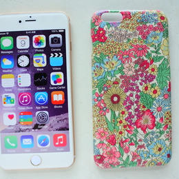 iPhone6Plus/6sPlusケース/リバティ・マーガレットアニー