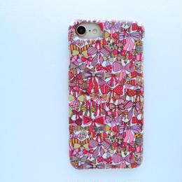 iPhone7 iPhone8ケース/ジェニーズリボンズ・ピンクベージュ