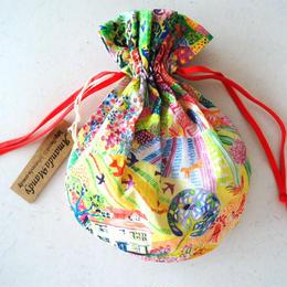 キャンディ巾着・リバティ・ロイヤルオークハウス2