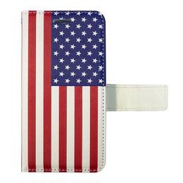 "【iPhone7/8専用】フリップケース""USA FLAG"""