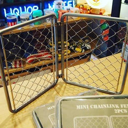 MINI CHAINLINK FENCE (2pcs set)