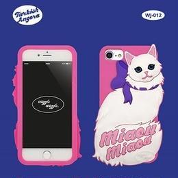 "【Wiggle Wiggle】スマホカバー""PINK CAT""【iPhone8/7/6s/6対応】"