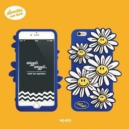 "【Wiggle Wiggle】スマホカバー""Daisy""【iPhone8/7/6s/6対応】"