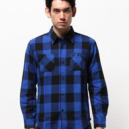 amc ヘヴィーブロックチェックシャツ 3色¥5900