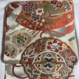 【Pure Silk Antique 】丸帯 アンティーク