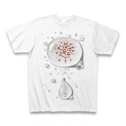 金魚(B) Tシャツ 白