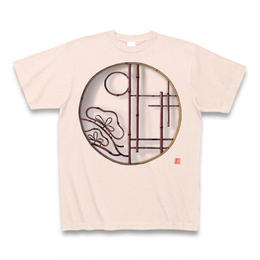 Tシャツ・丸窓(松)ライトピンク