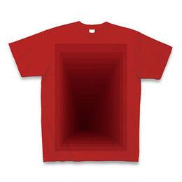 Perspective(ブドウ)Tシャツ レッド