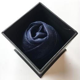 Tatzmiki(タツ・ミキ) ナチュラル・インディゴのスカーフ AMOUR (アムール)