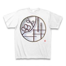 Tシャツ・丸窓(梅)ホワイト