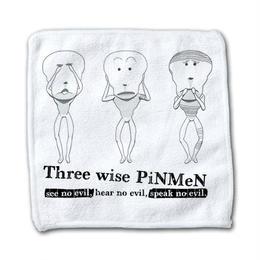 PiNMeN(三猿) ハンドタオル